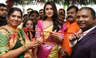 Payal Rajput Launches Kalyan Mahalakshmi Shopping Mall @ Kothapeta