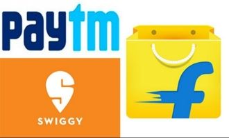Paytm Flipkart Swiggy incur huge losses