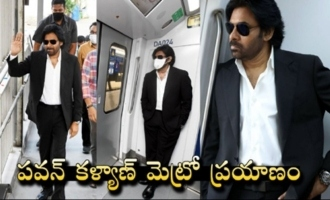 Pawan Kalyan Hyderabad Metro Full Video