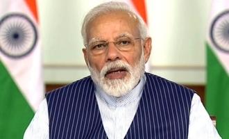 Breaking! Get ready for Modi's address tonight