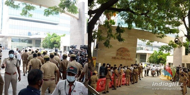 SP Balasubrahmanyam: Full police bandobast outside hospital