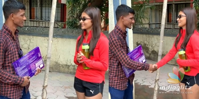 Pooja Hegde asks Bhaskar Rao to never repeat it