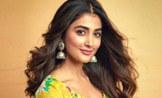 Pooja Hegde is thrilled to be back on sets of Akhil's film