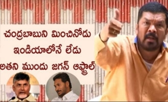 Chandrababu is no.1 in India, YS Jagan is no one before him: Posani Krishna Murali