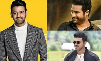 Pic Talk: Prabhas, NTR, Charan & two other stars pose together