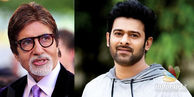 Prabhas on Big B joining sci-fi film: Its a dream come true