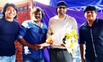 Pic Talk: Prabhas poses with 'Radhe Shyam' choreographers