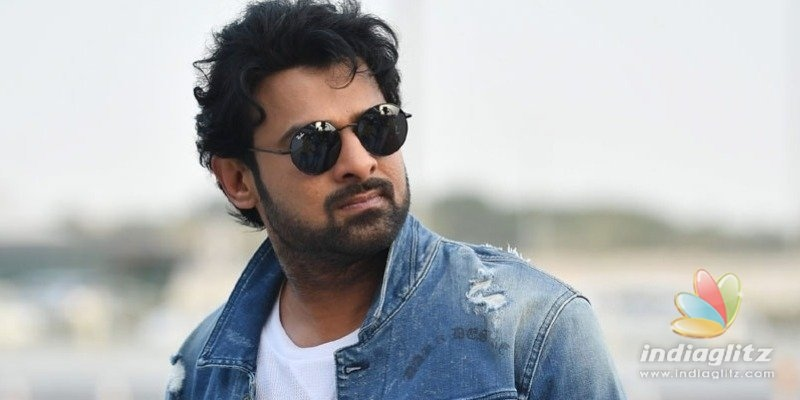 Prabhas20 first look to release soon?