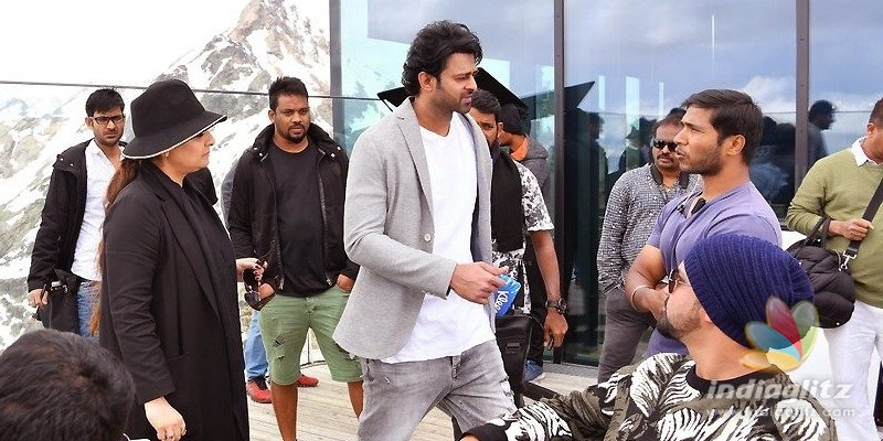 It was incredible, awesome: Prabhas