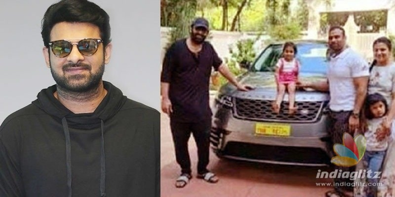 Prabhas gifts a Range Rover to his gym trainer!