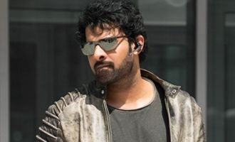 Prabhas in Mumbai for special screening of film