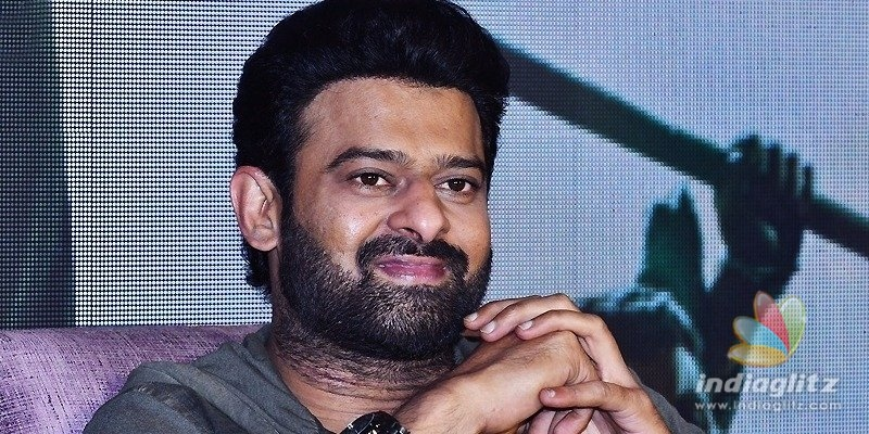 Thats what I will do on Saaho release day: Prabhas