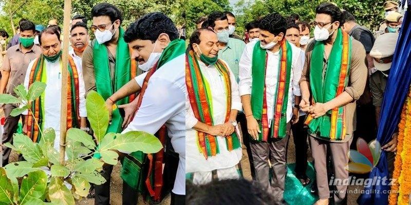 Prabhas adopts forest block, donates Rs 2 Cr for Eco-park