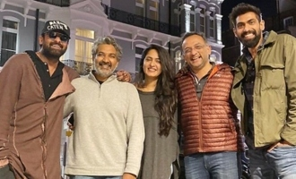 Prabhas, Anushka, Rajamouli, Rana do a 'royal reunion'