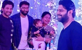 Prabhas, Allu Arjun grace function at Gopichand's house