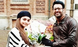 Pic Talk: Prabhas poses with Vaibhavi Merchant in Italy