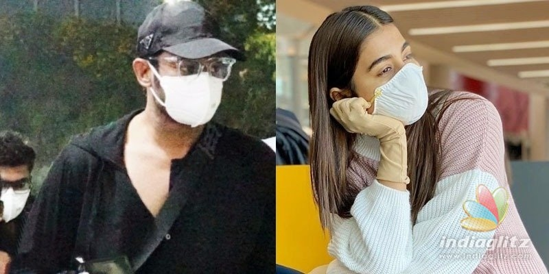 Prabhas, Pooja leave Georgia as Corona threat looms large