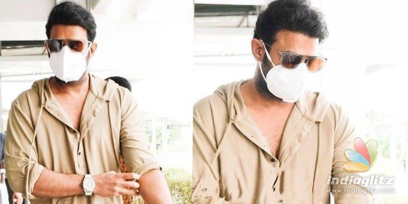Pic Talk: Prabhas leaves for Radhe Shyam shoot