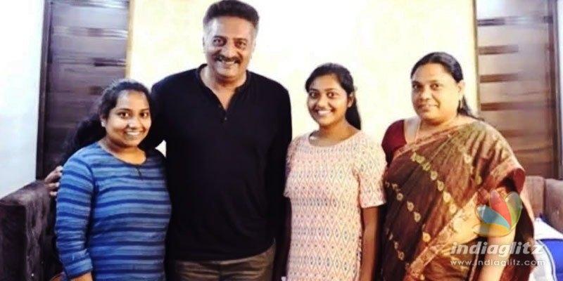 Prakash Raj helps Godavari girl to pursue overseas studies