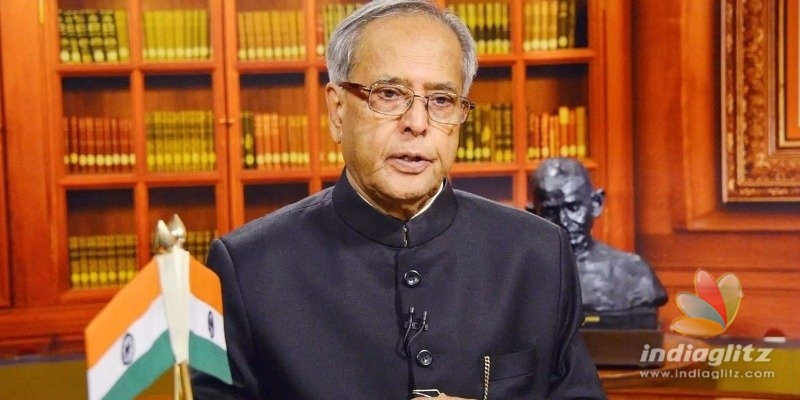 Pranab Mukherjee in book: I wouldnt have allowed creation of Telangana