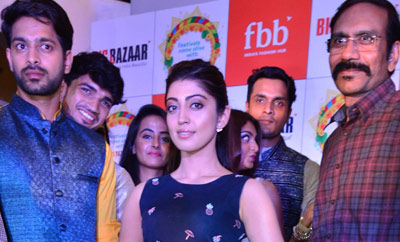 Pranitha Launches Big Bazaar Dussehra Collections
