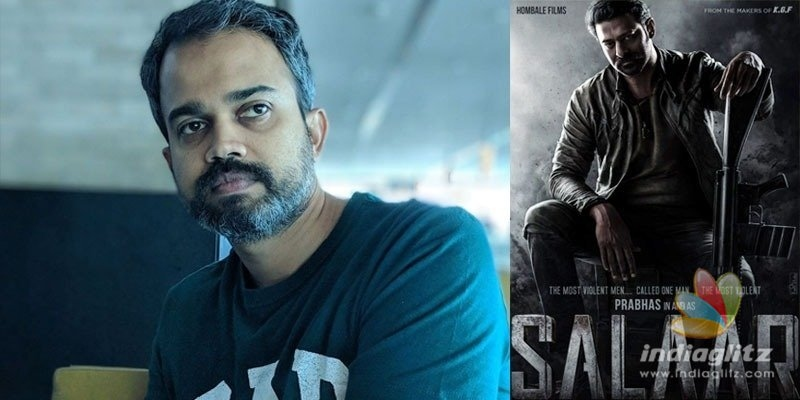 Prashanth Neel explains meaning of Prabhas Salaar