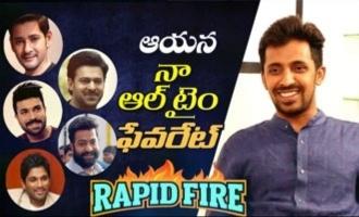 RAPID FIRE - Priyadarshi about Mahesh Babu, Jr NTR, Prabhas, Ram Charan, Allu Arjun, his favourites