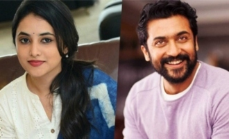 'Gang Leader' actress Priyanka Arul to romance Suriya
