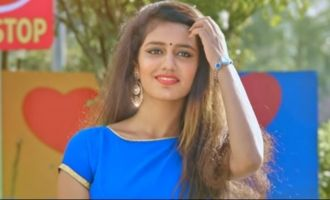Priya Varrier's song scripts a record with dislikes!
