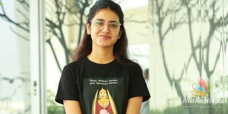 Check fails ex-national crush Priya Prakash Varrier