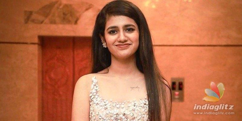 Wink girl Priya Varrier to do 'Lover Hackers' - Telugu News