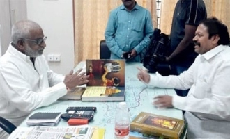 Puranapanda Srinivas holds discussions with YV Subba Reddy