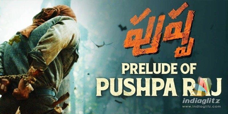 Prelude Of Pushparaj: Allu Arjun looks ferocious in the jungle
