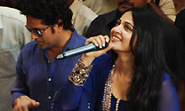Sachin And Anushka Inaugurate PVP Square