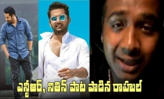 Rahul Sipligunj Singing Jr Ntr , Nithin Songs