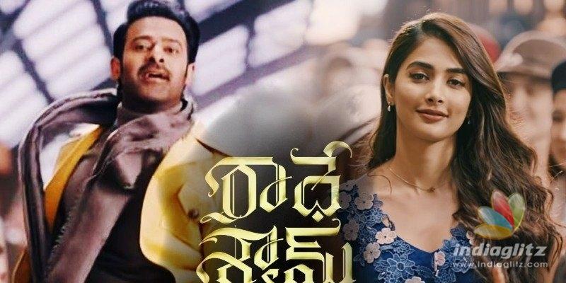 Radhe Shyam Teaser: Wont die for love!