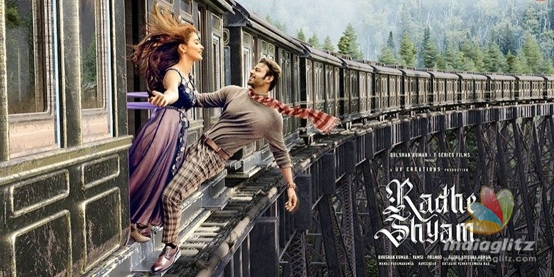 Radhe Shyam Motion Poster: Prabhas, Pooja Hegde have a charming tryst on a train