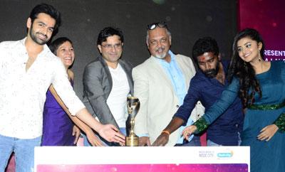 Ram & Anupama Parameshwaran @ Radio City Awards Trophy Unveiling Event