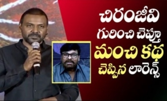 Chiranjeevi is my God: Raghava Lawrence tells an inspiring story