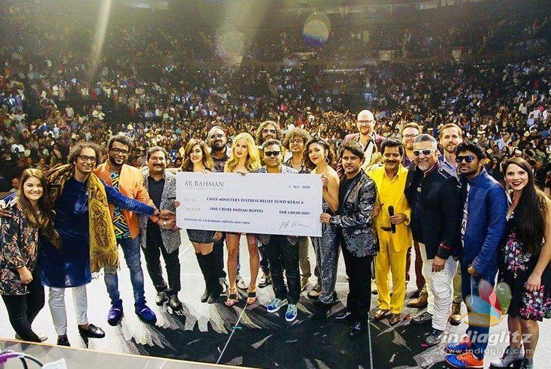 Rahman donates big for Kerala
