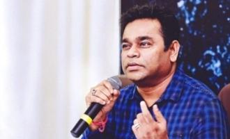 A gang is slandering meA R Rahman
