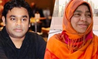 AR Rahman bereaved as mother Kareema Begum dies