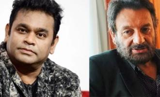 Rahman, your Oscar win itself is the problem, says Shekhar Kapur to the maestro