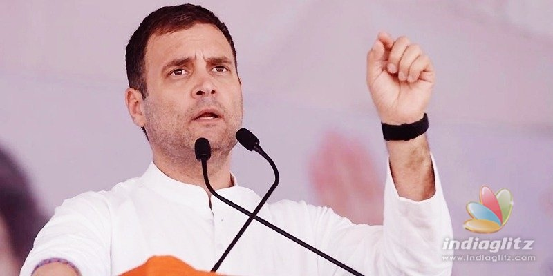 Steal ideas from us, Rahul Gandhi tells Modi