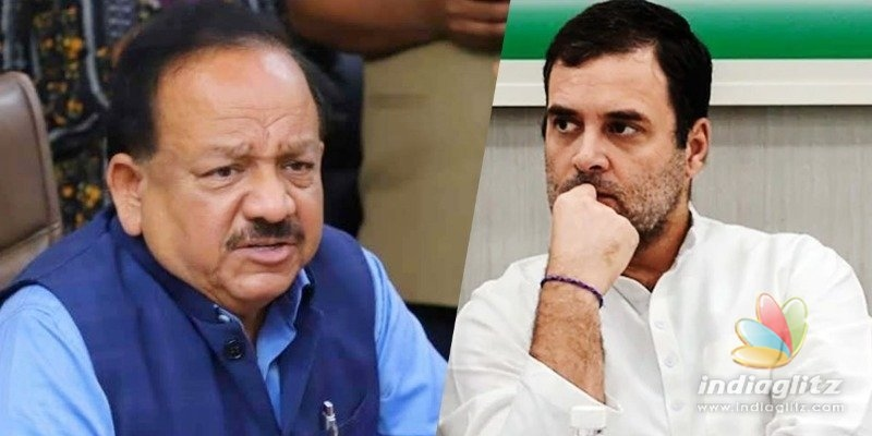 Health Minister counters Rahul Gandhis criticism on vaccines