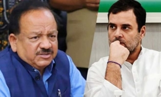 Health Minister counters Rahul Gandhi's criticism on vaccines
