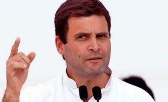 'Save Modi, run ads', Rahul mocks