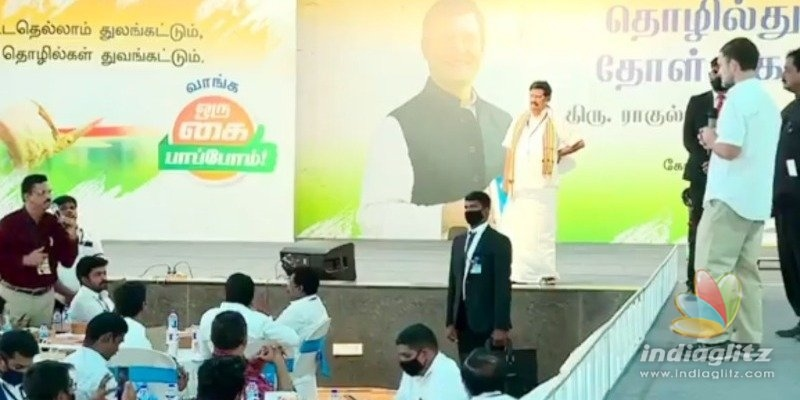 Industrialists painful message at Rahul Gandhis meet goes viral