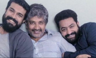 Rising writer for Rajamouli-NTR-Charan movie?