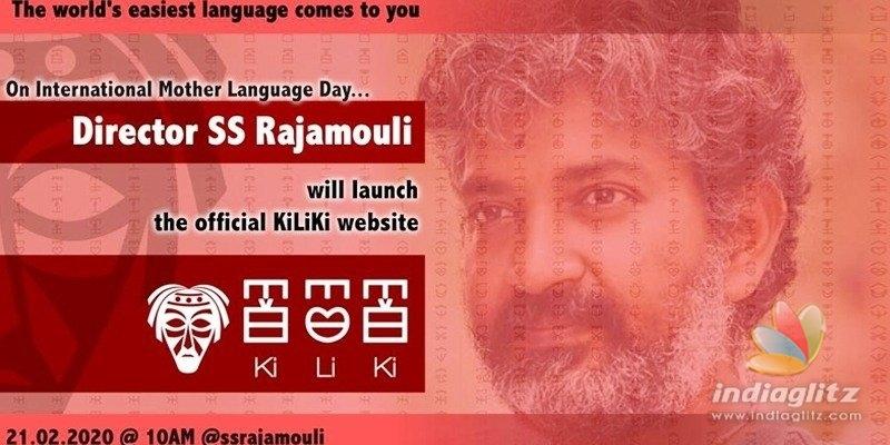 Rajamouli to promote Kiliki as worlds easiest language!
